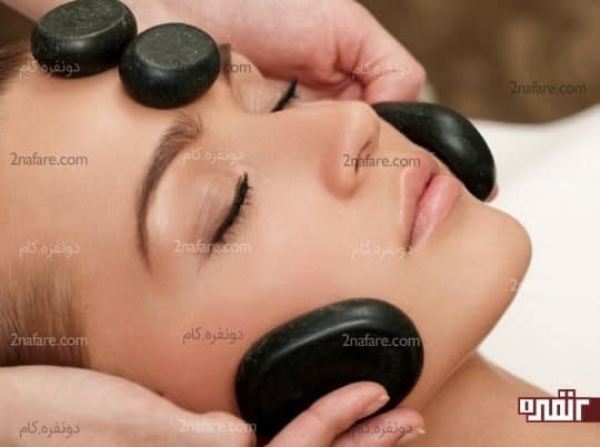 استفاده از سنگ های با خاصیت درمانی در ماساژدرمانی