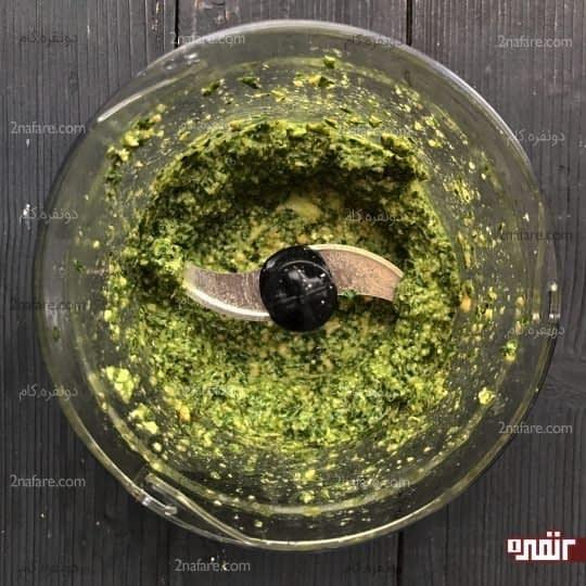 اضافه کردن روغن زیتون
