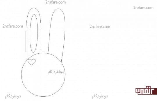 الگوی ساخت خرگوش با نمد