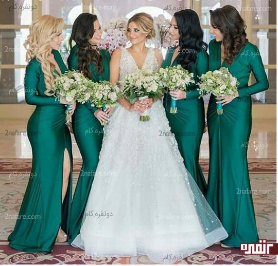 انتخابی ساده در ارتباط با لباس عروس