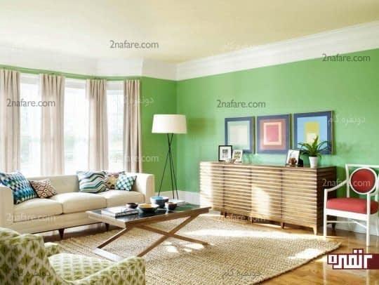 انتخاب هوشمندانه ی ترکیب رنگ ها در دکوراسیون داخلی