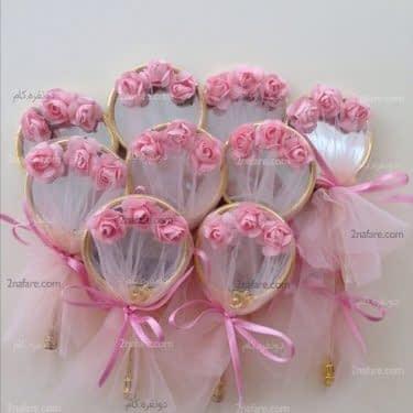 ایده های جالب برای گیفت عروسی با آینه