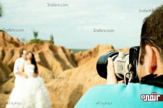 ایده های متنوع برای داشتن بهترین عکس های عروسی