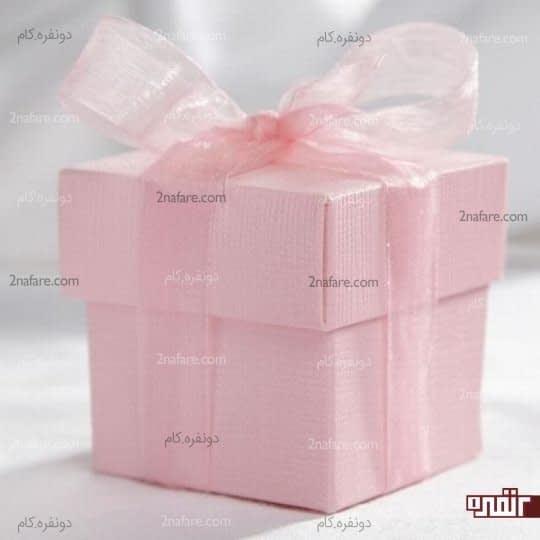 جعبه کادوی ساده و زیبا