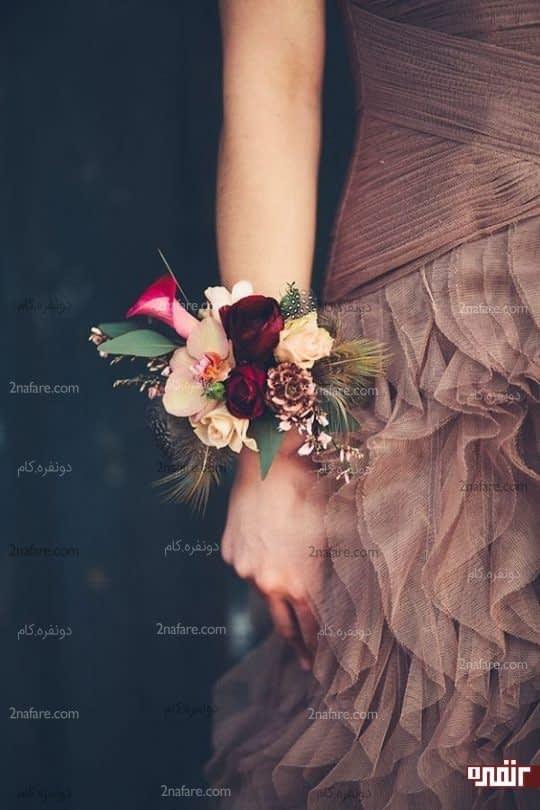 دسته گل ترکیبی از رز و ارکیده