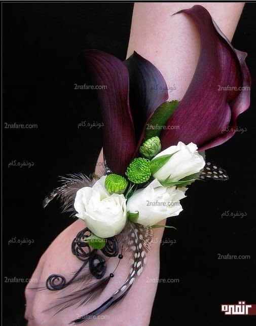 دسته گل مچی از ترکیب رز و شیپوری