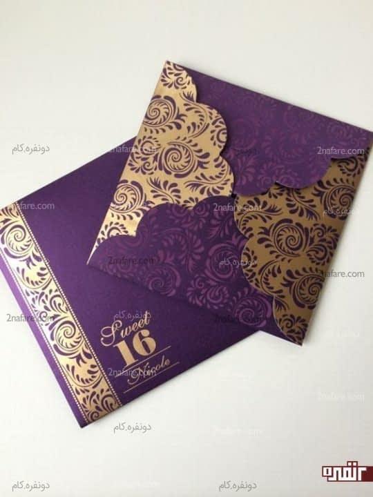 رنگ زیبا برای کارت عروسی