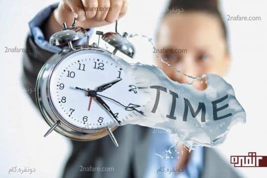 زمان رو به درستی مدیریت کنید