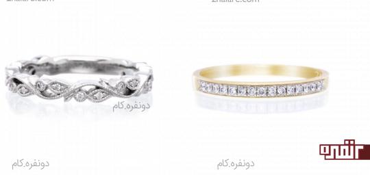 سبک وینتیج برای انگشتر و حلقه عروس