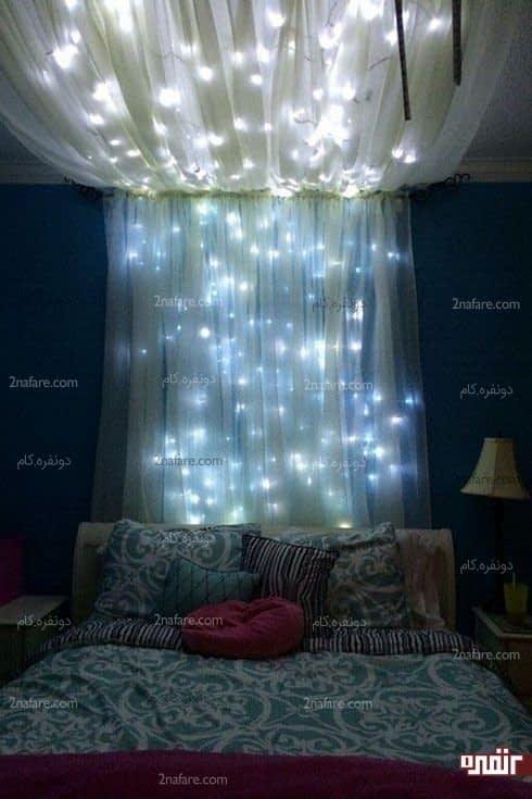 ستاره های نورانی و زیبا در اتاق خواب شما