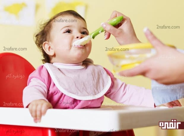 شروع غذا دادن به نوزاد بعد از 6 ماهگی