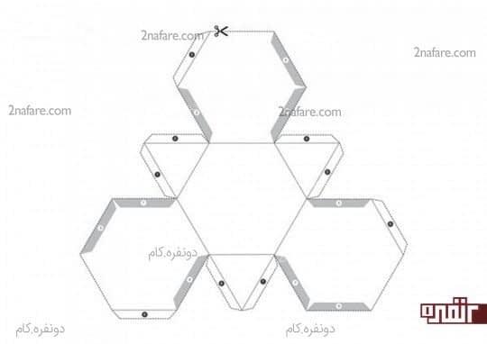 طرح هندسی اول برای پرینت