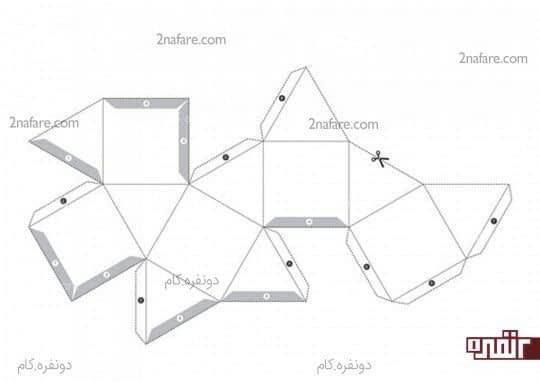 طرح هندسی دوم برای پرینت