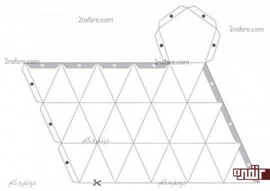 طرح هندسی سوم برای پرینت