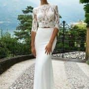 لباس عروس دامن جدا