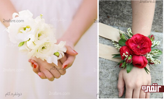 مدل های متنوع دسته گل مچی عروس و ساقدوش