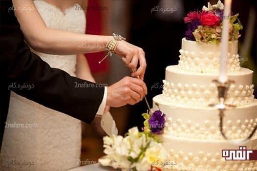 ملاکهای انتخاب کیک مناسب عروسی