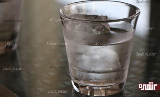 نوشیدن آب قبل از خواب