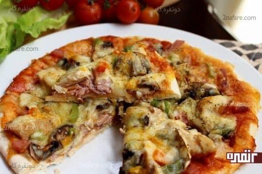 پیتزا کوردن بلو(آفریکانو)