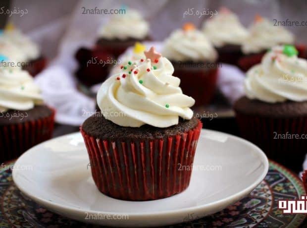 کاپ کیک نوتلا 2