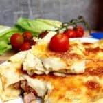 طرز تهیه کرپ ژامبون و پنیر