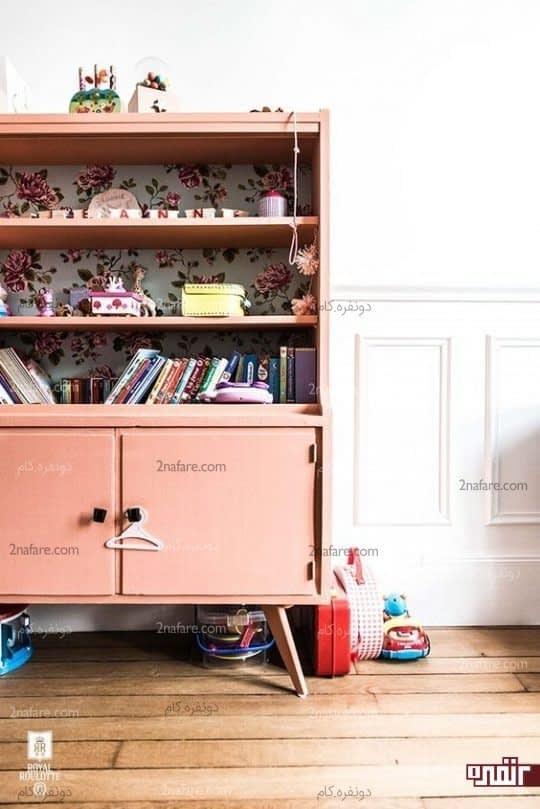 کمد رنگی برای اتاق بچه ها