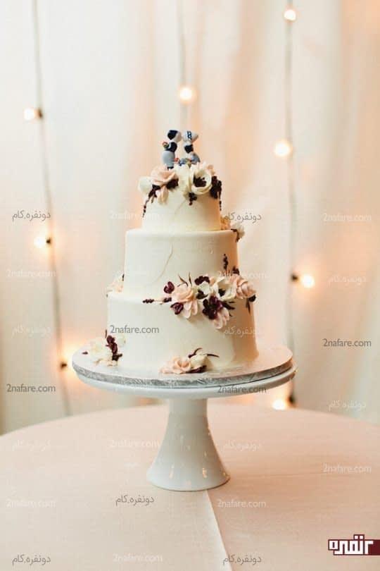کیک ساده و شیک