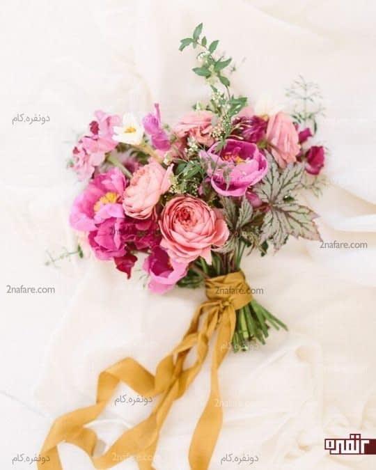گلهای تابستانی و زیبا برای دسته گل عروس