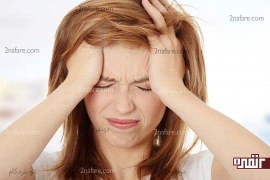 8 نشانه خاموش که استرس مسبب آنها ست