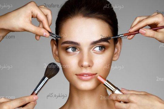 از آرایش بیش از حد دوری کنید