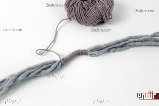 بستن رشته ها به هم