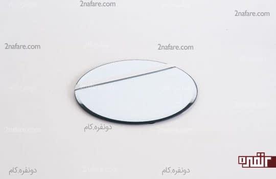 جدا کردن یک سوم آینه با نوارچسب