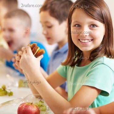 خوراکی های مناسب برای مدرسه بچه ها