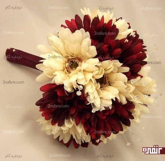 دسته گل ترکیبی ژربرا