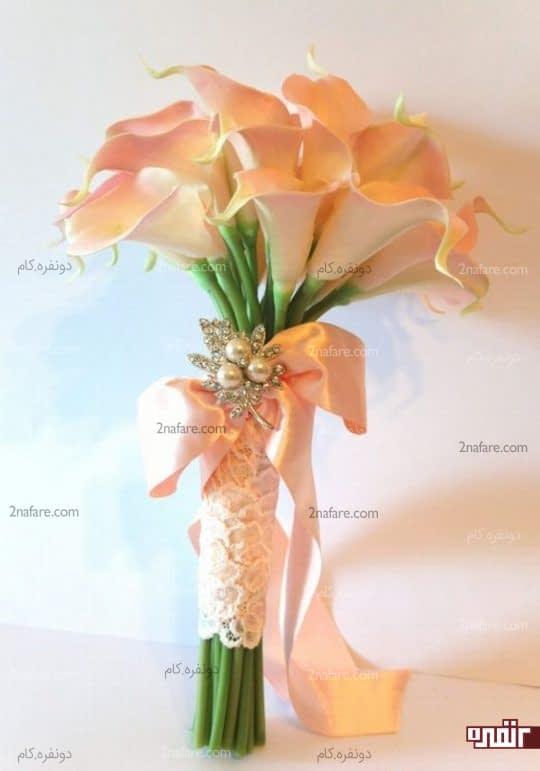 دسته گل خوش رنگ شیپوری