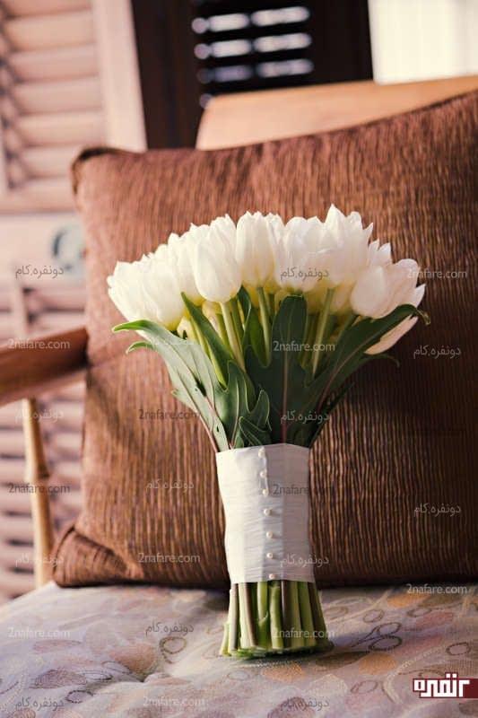 دسته گل لاله عروس