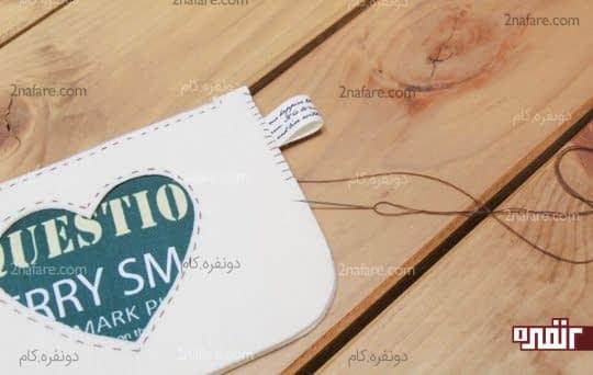 دوخت دندان موشی دور کیف