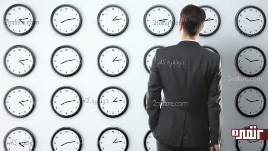 زمان انجام کار ها را تعیین کنید