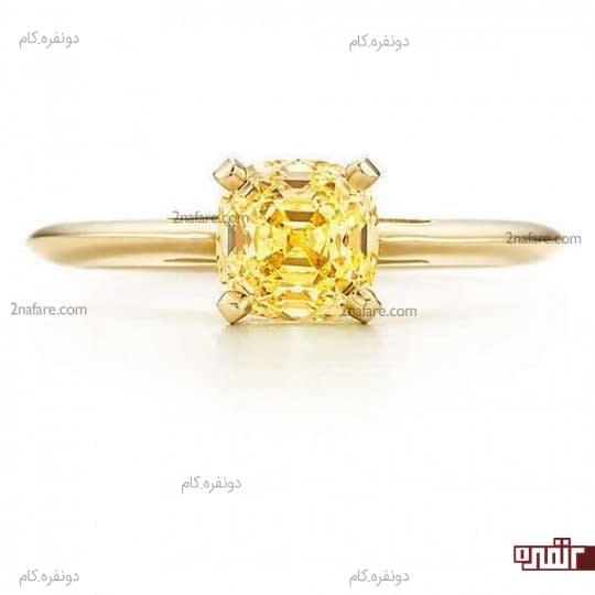 طرح کلاسیک و زیبا برای انگشتر عروس