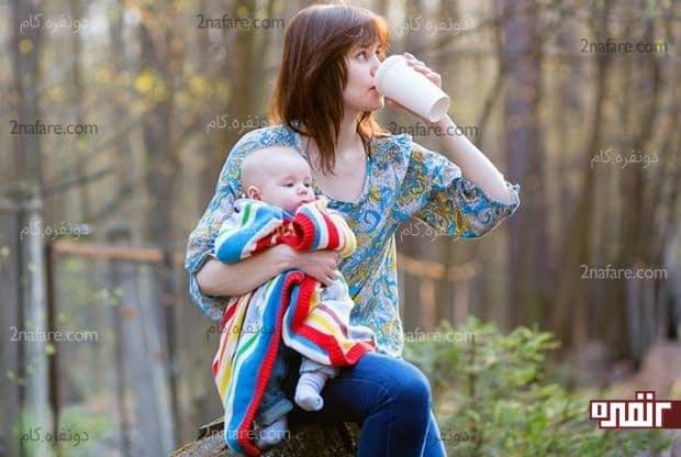 مصرف چای سبز در دوران شیردهی