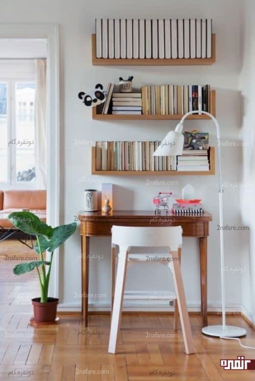 مکان مناسب برای قرار دادن میز کار در محیط خانه