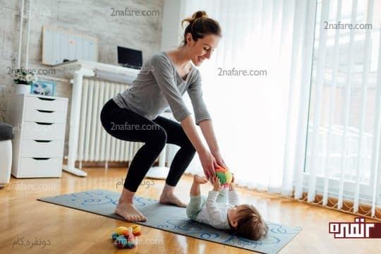 ورزش را به عادت هر روزتان در منزل تبدیل کنید