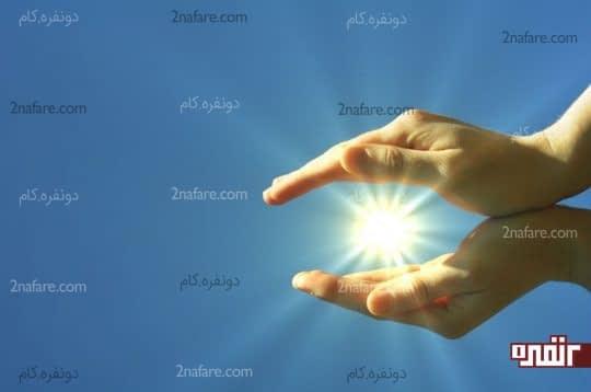 ویتامین دی از طریق نور آفتاب هم به دست میاد.