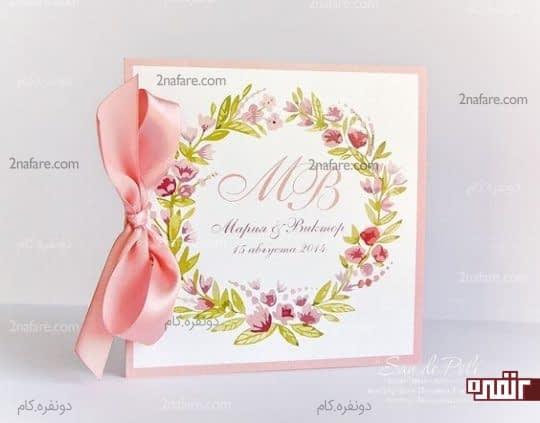 کارت عروسی جذاب و زیبا