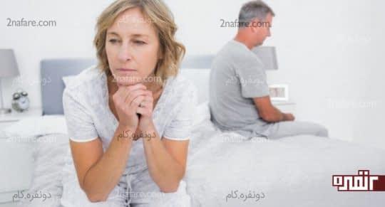 کاهش میل جنسی با افزایش سن