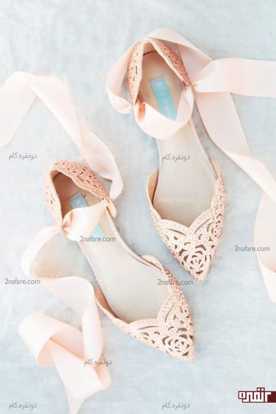 کفش عروس راحت و شیک