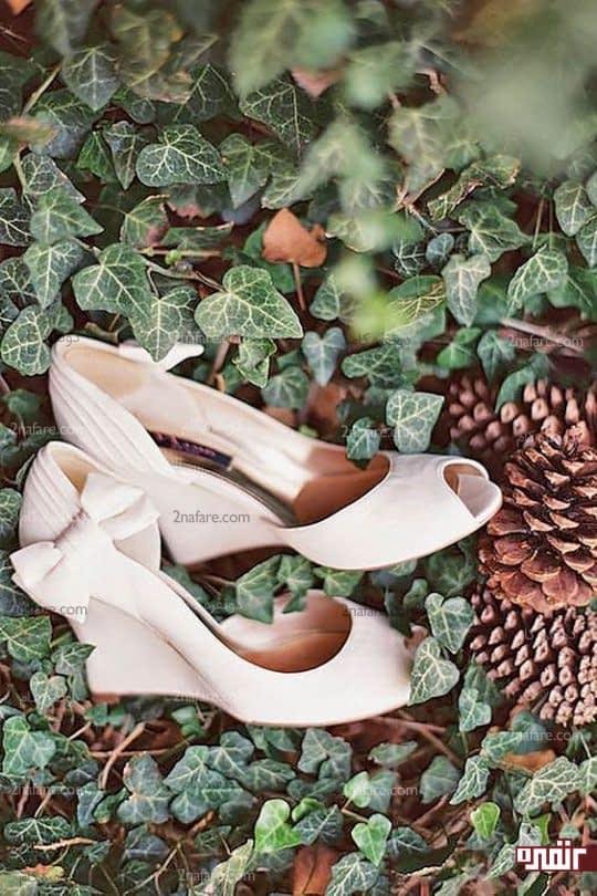 کفش عروس لژدار و راحت