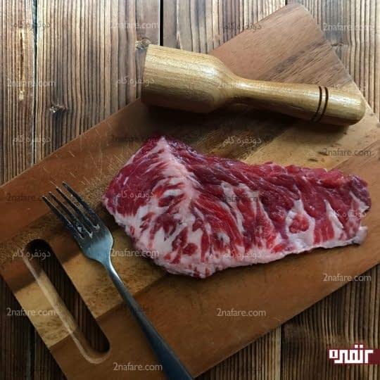 کوبیدن گوشت