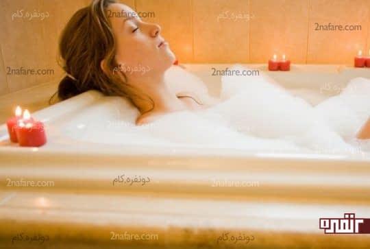 حمام آب گرم برای بیماری التهابی لگن