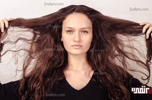 درمان خانگی ساده برای سم زدایی مو